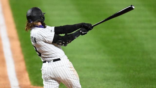 Colorado Rockies Outfielder Charlie Blackmon