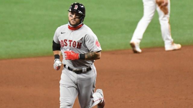 Boston Red Sox infielder Michael Chavis