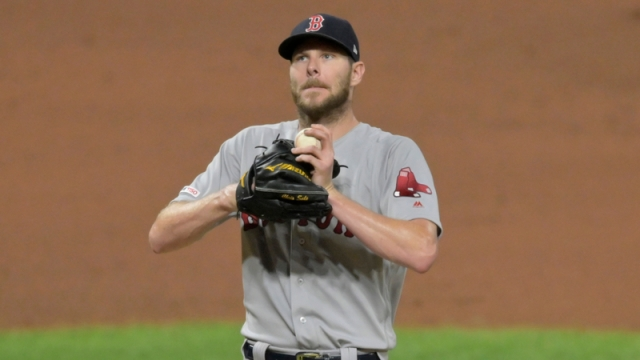 Boston Red Sox's Chris Sale