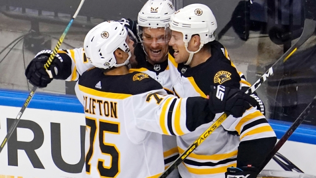 Boston Bruins' Connor Clifton