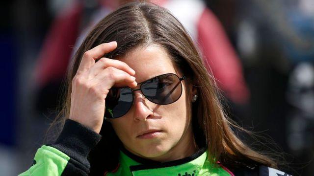 Professional racecar driver Danica Patrick
