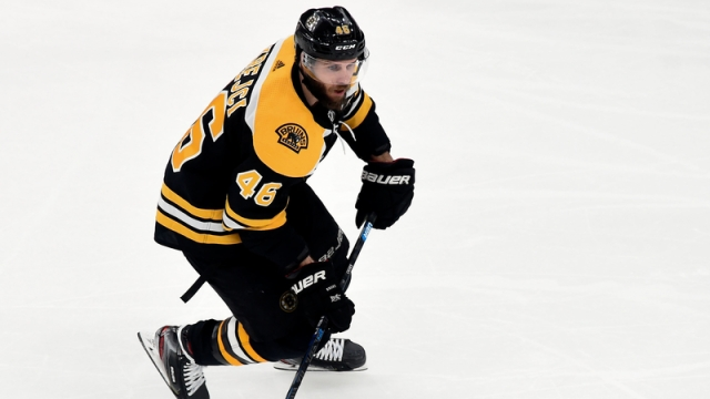 Boston Bruins' David Krejci