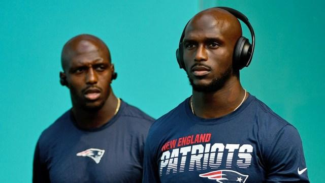New England Patriots' Devin & Jason McCourty