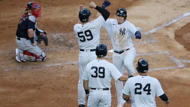 New York Yankees infielder Gio Urshela