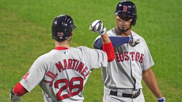 Red Sox DH J.D. Martinez, SS Xander Boaerts