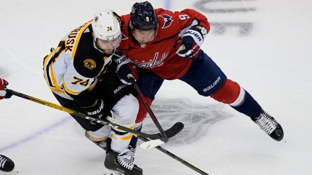 Bruins winger Jake DeBrusk