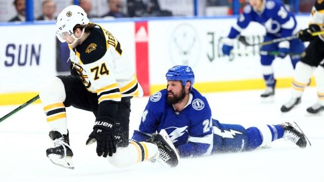 Boston Bruins' Jake DeBrusk