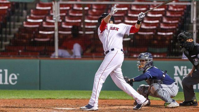 Boston Red Sox outfielder J.D. Martinz