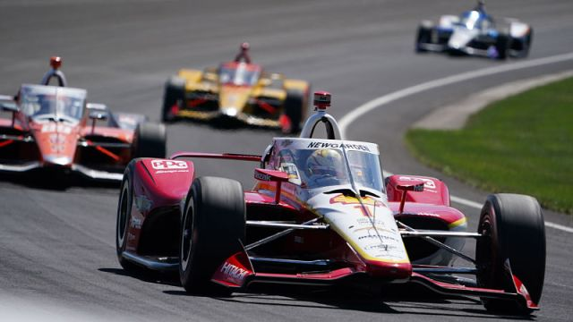 IndyCar driver Josef Newgarden