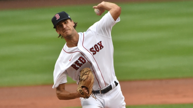 Boston Red Sox starting pitcher Kyle Hart