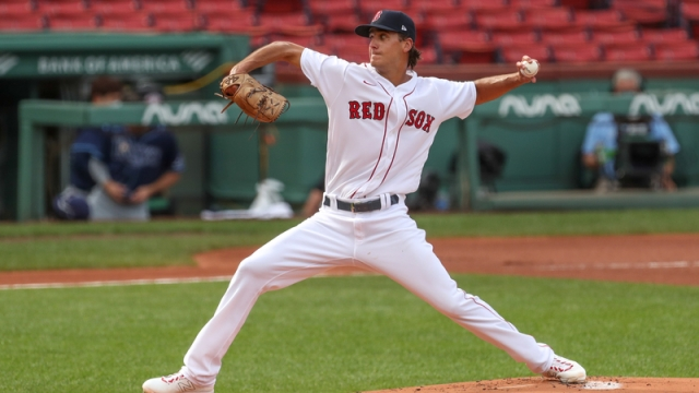 Boston Red Sox Pitcher Kyle Hart