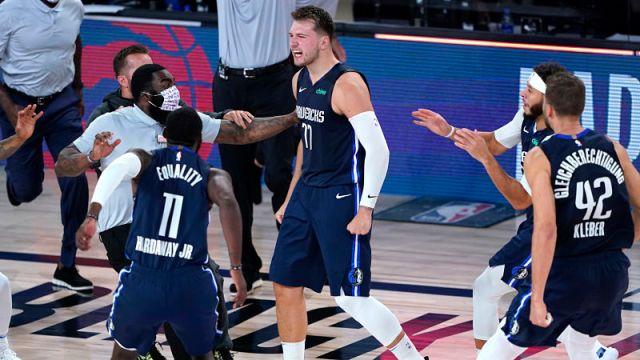 Dallas Mavericks' Luka Doncic