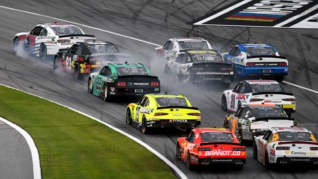 NASCAR Xfinity Series race at Daytona International Speedway