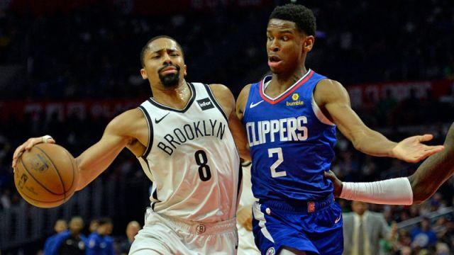 Brooklyn Nets guard Spencer Dinwiddie