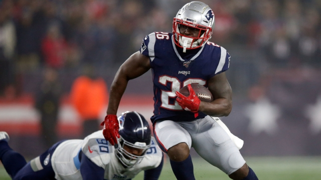 New England Patriots' Sony Michel