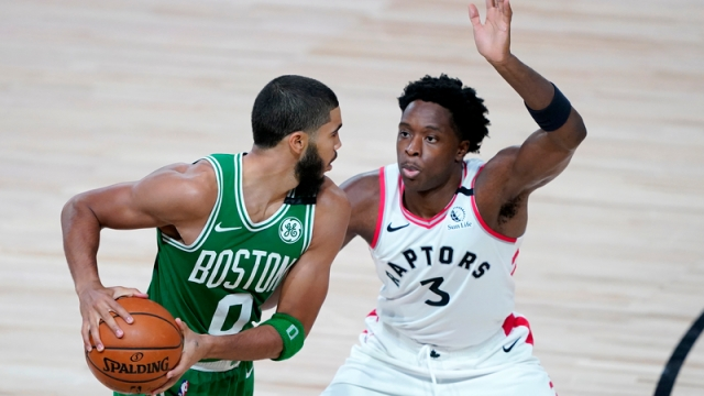 Toronto Raptors, Boston Celtics