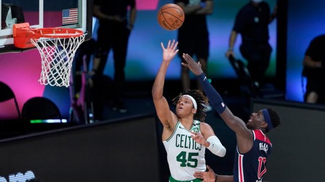 Celtics forward Romeo Langford
