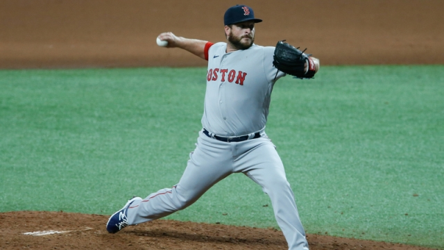 Boston Red Sox relief pitcher Ryan Brasier