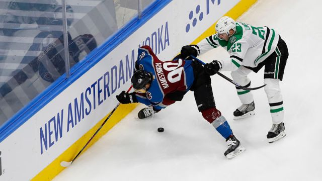 Colorado Avalanche center Vladislav Namestnikov