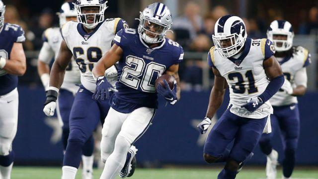 Dallas Cowboys running back Tony Pollard