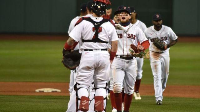 Red Sox right fielder Alex Verdugo
