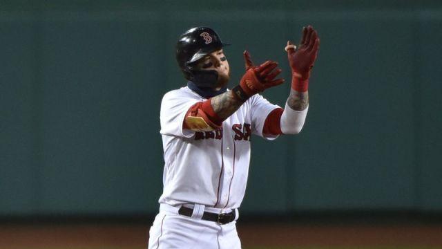Red Sox outfielder Alex Verdugo