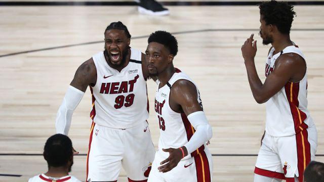 Miami Heat forward Bam Adebayo