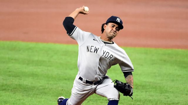 New York Yankees pitcher Deivi Garcia