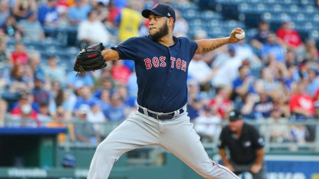 Boston Red Sox Pitcher Eduardo Rodriguez