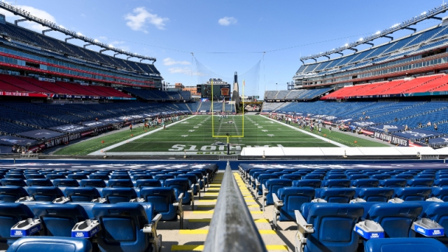 A general view of Gillette Stadium