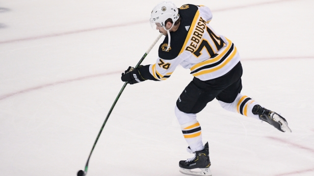 Boston Bruins Winger Jake DeBrusk
