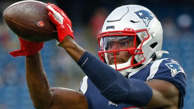New England Patriots corner back Joejuan Williams