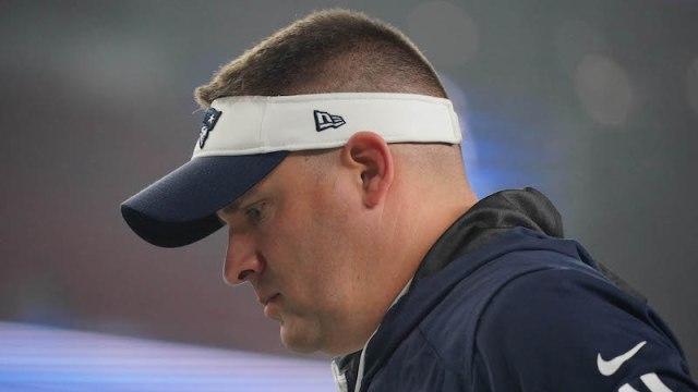 Patriots offensive coordinator Josh McDaniels
