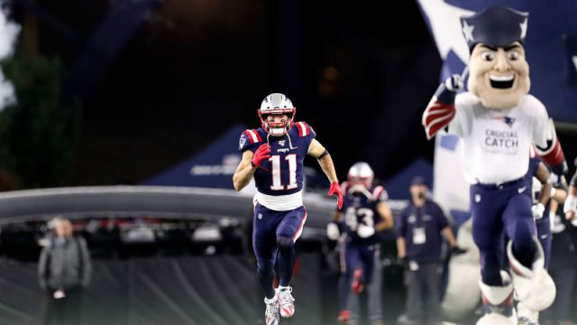 New England Patriots wide receiver Julian Edelman