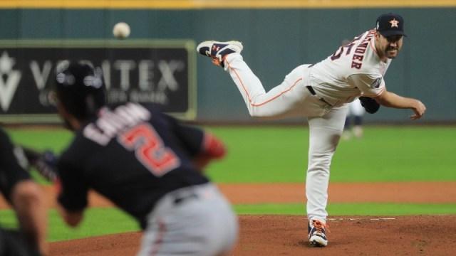 Houston Astros pitcher Justin Verlander