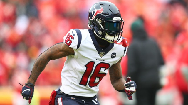 Houston Texans wide receiver Keke Coutee