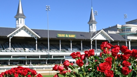 Churchill Downs winners' circle