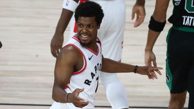 Toronto Raptors guard Kyle Lowry
