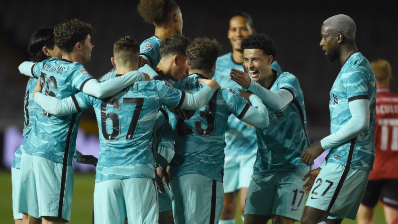 Lincoln City Vs. Liverpool: Score, Highlights Of Carabao Cup Game