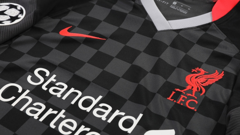 Liverpool's Black Third Kit Pays Homage To European Nights At Anfield