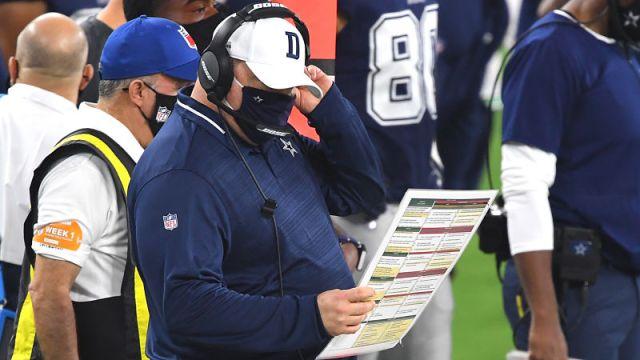 Dallas Cowboys coach Mike McCarthy