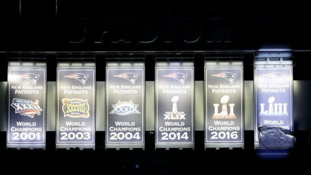 New England Patriots Super Bowl Benner