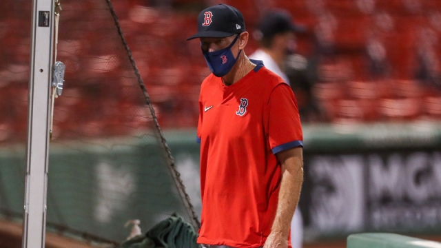 Former Boston Red Sox Manager Ron Roenicke