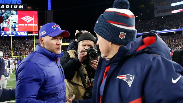 Sean McDermott, Bill Belichick
