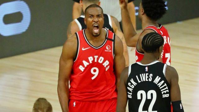 Toronto Raptors center Serge Ibaka