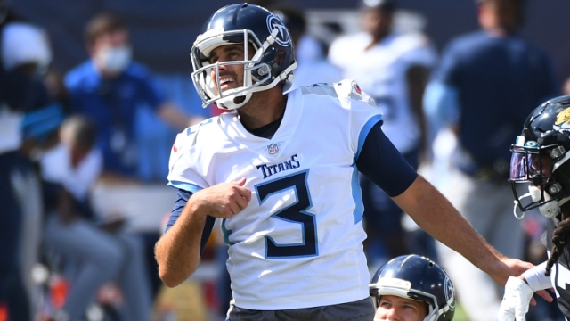 Tennessee Titans kicker Stephen Gostkowski