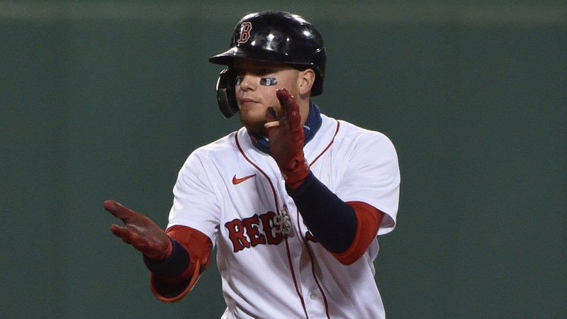 Red Sox Outfielder Alex Verdugo Continued To Crush Yankees Saturday Night - NESN.com