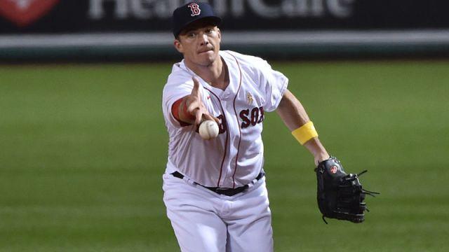 Boston Red Sox player Bobby Dalbec