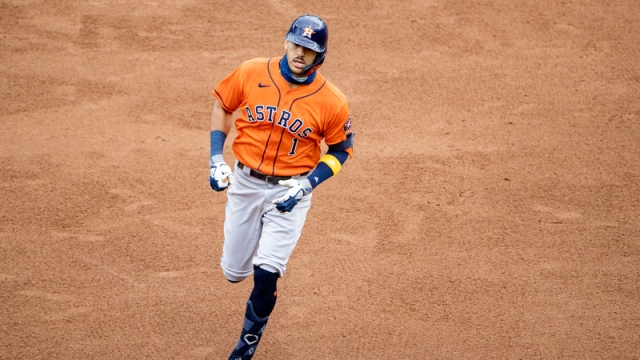 Houston Astros shortstop Carlos Correa