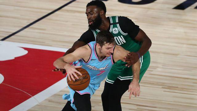 Miami Heat guard Goran Dragic